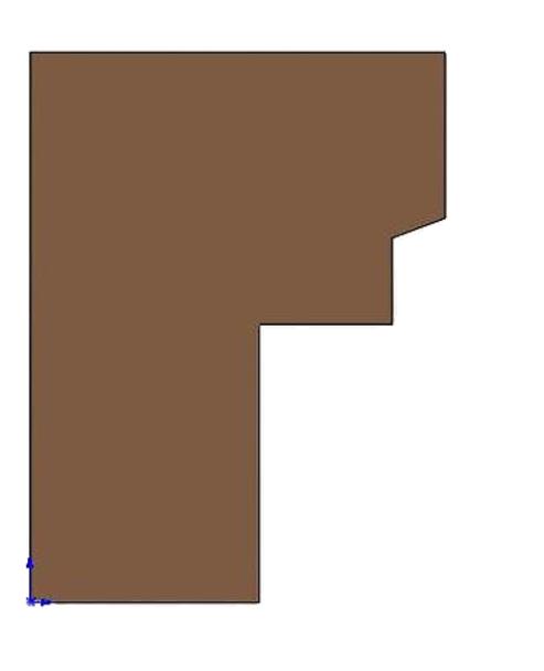 Brick Panel, Left - WIN-4000