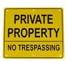 No Hunting Trespassing Sign