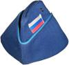 Blue Russian Pilot Side Cap