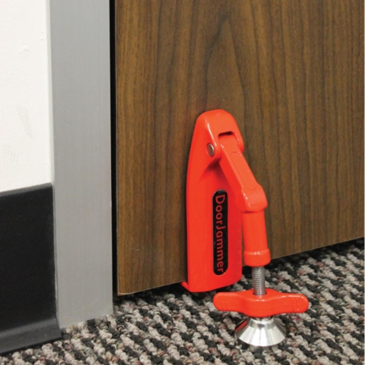 Streetwise Door Jammer: Portable security Device for Doors