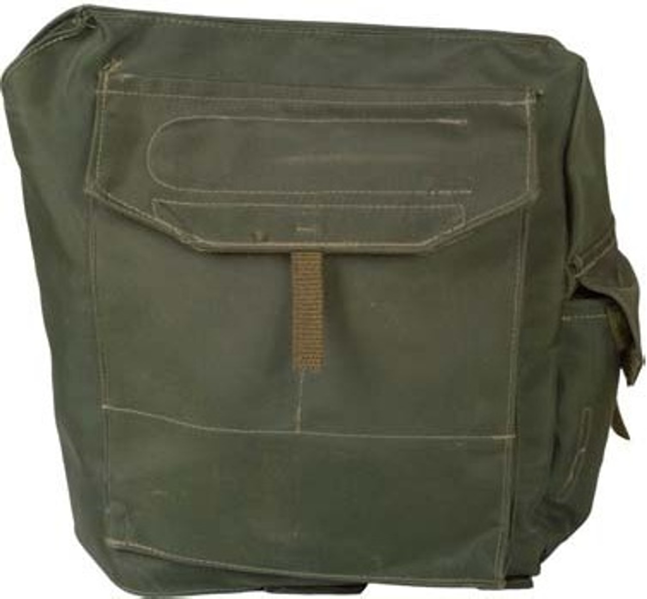 Canadian Military Issue Web Gas Mask Bag w/strap