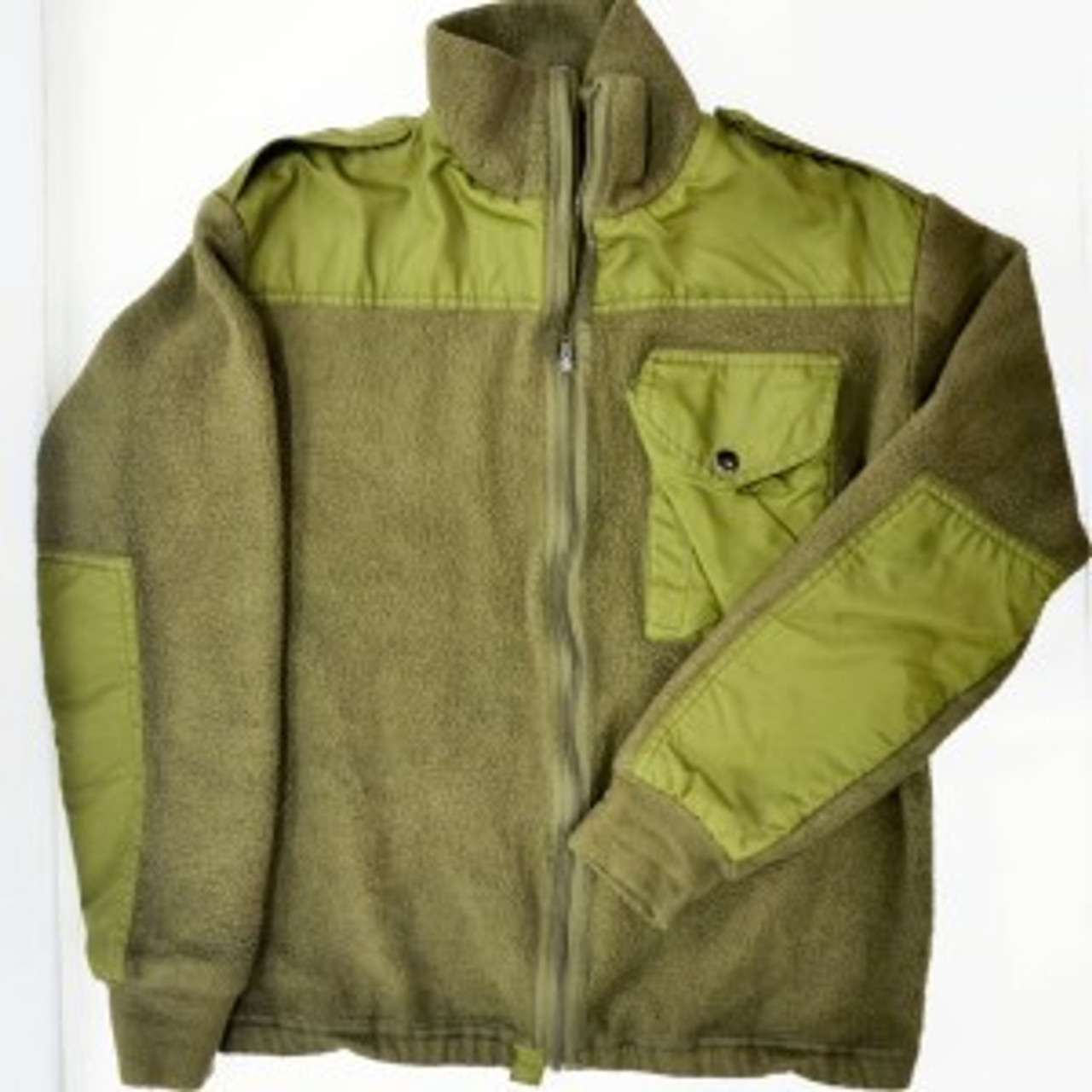 Canadian Military Issue Fleece Jacket - Used