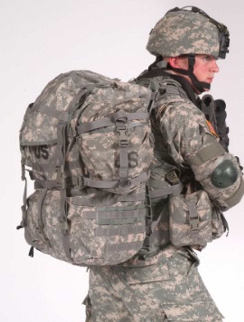 Surplus US Large Molle Field pack w/ Frame and Straps.