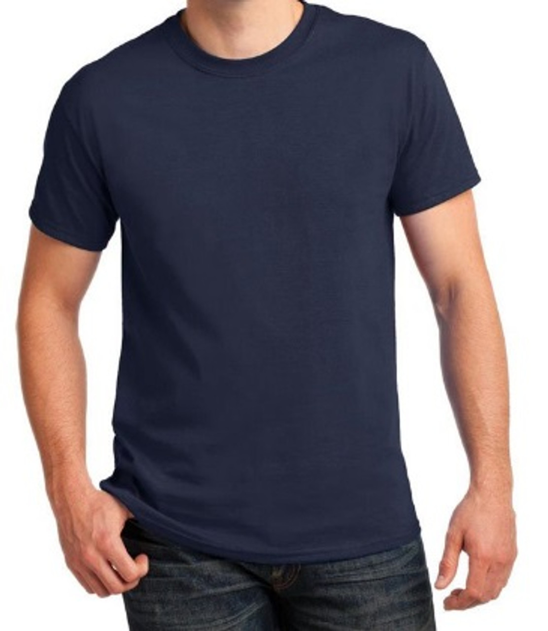 US Military Issue Navy Blue T-Shirt, XXL, NEW!