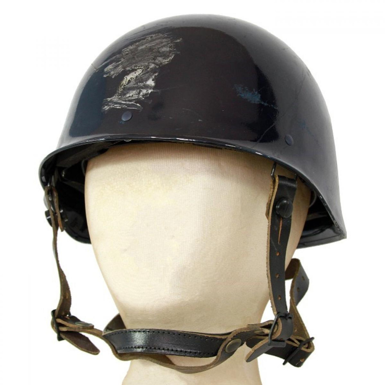 Surplus French Blue Police Helmet