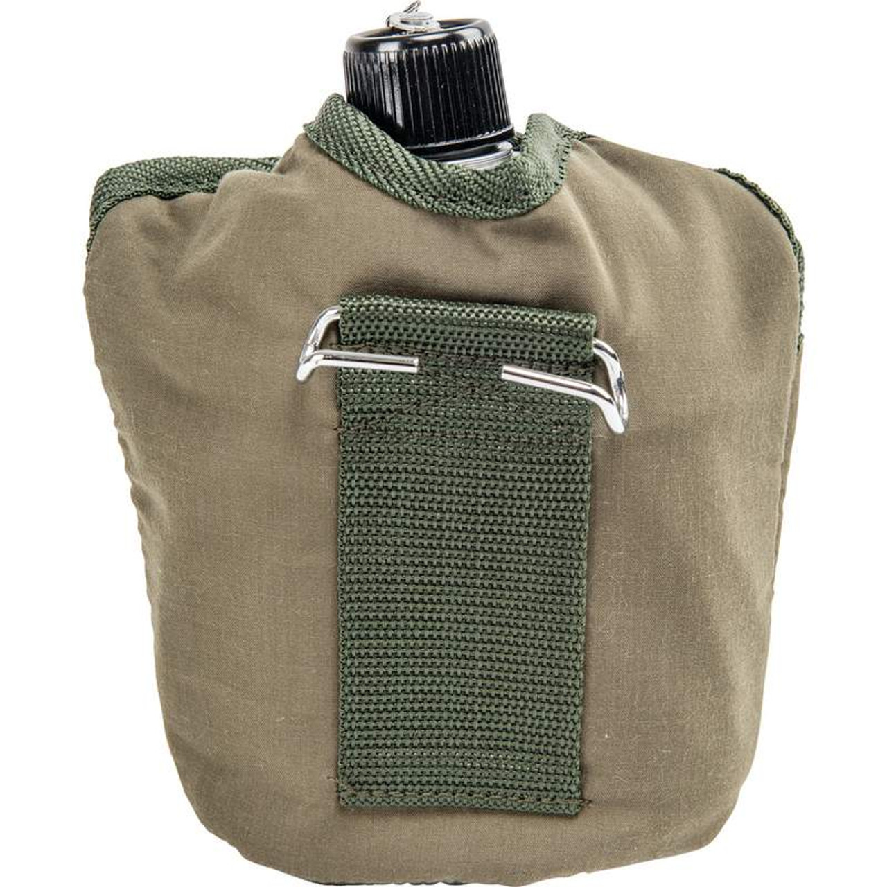 Maxam® 32oz Aluminum Canteen with Cover and Cup