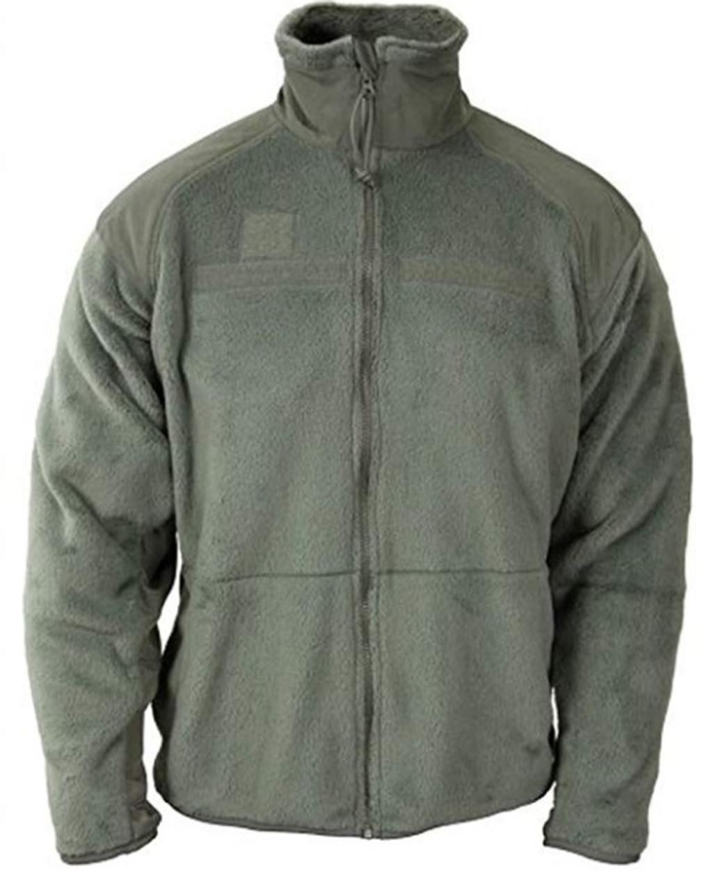 US Military Issue GEN III Polartec Fleece Jacket Foliage Green