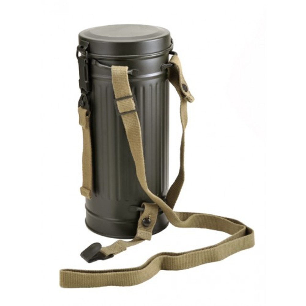 German Gas Mask Container Tube
