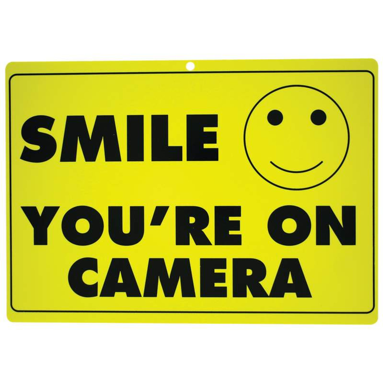 B&F Maxim 10PC Sign Set - Smile You're on Camera