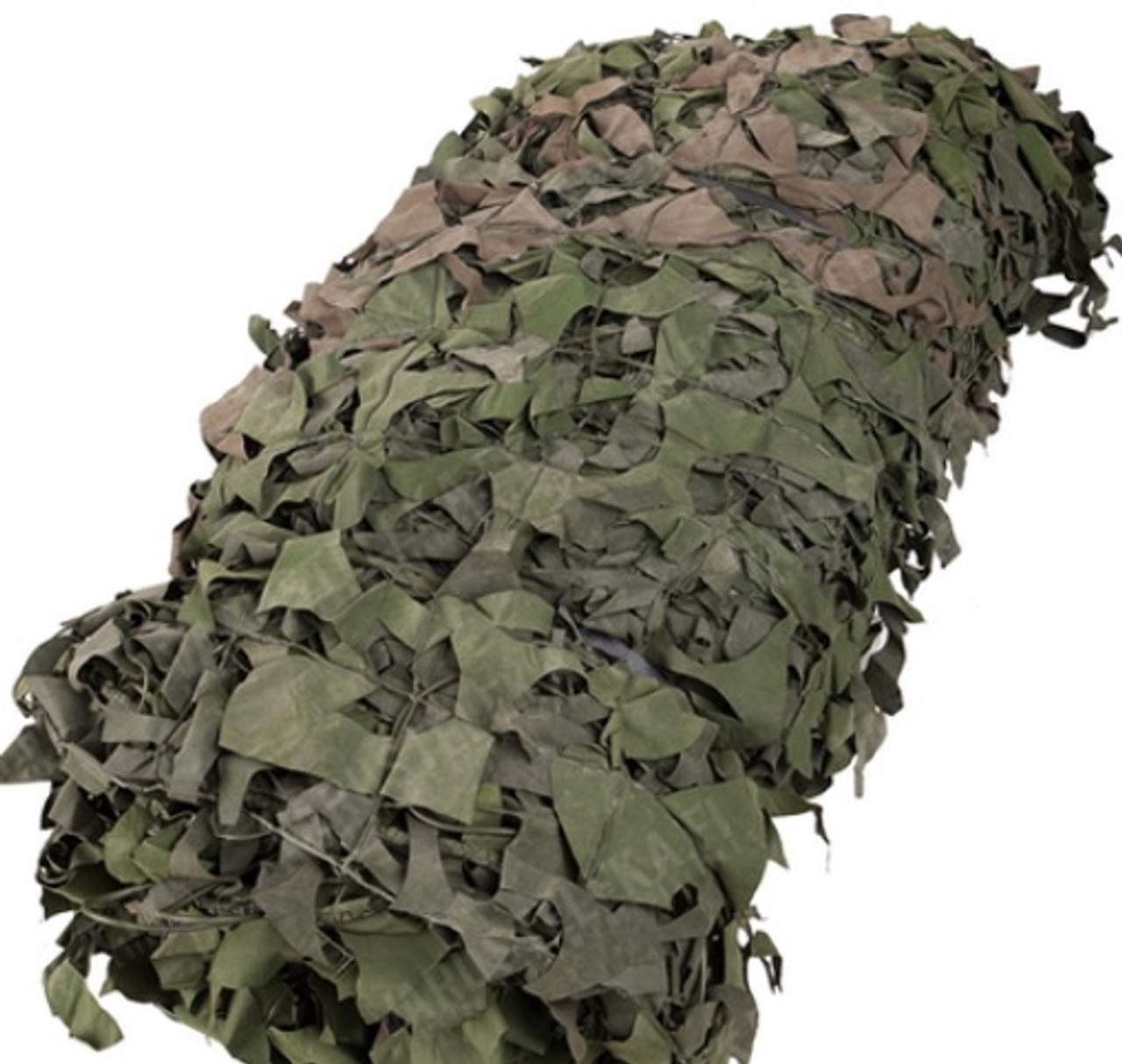 Canadian Army Surplus Camo Netting Approx. 20' x 20' Brown & Green