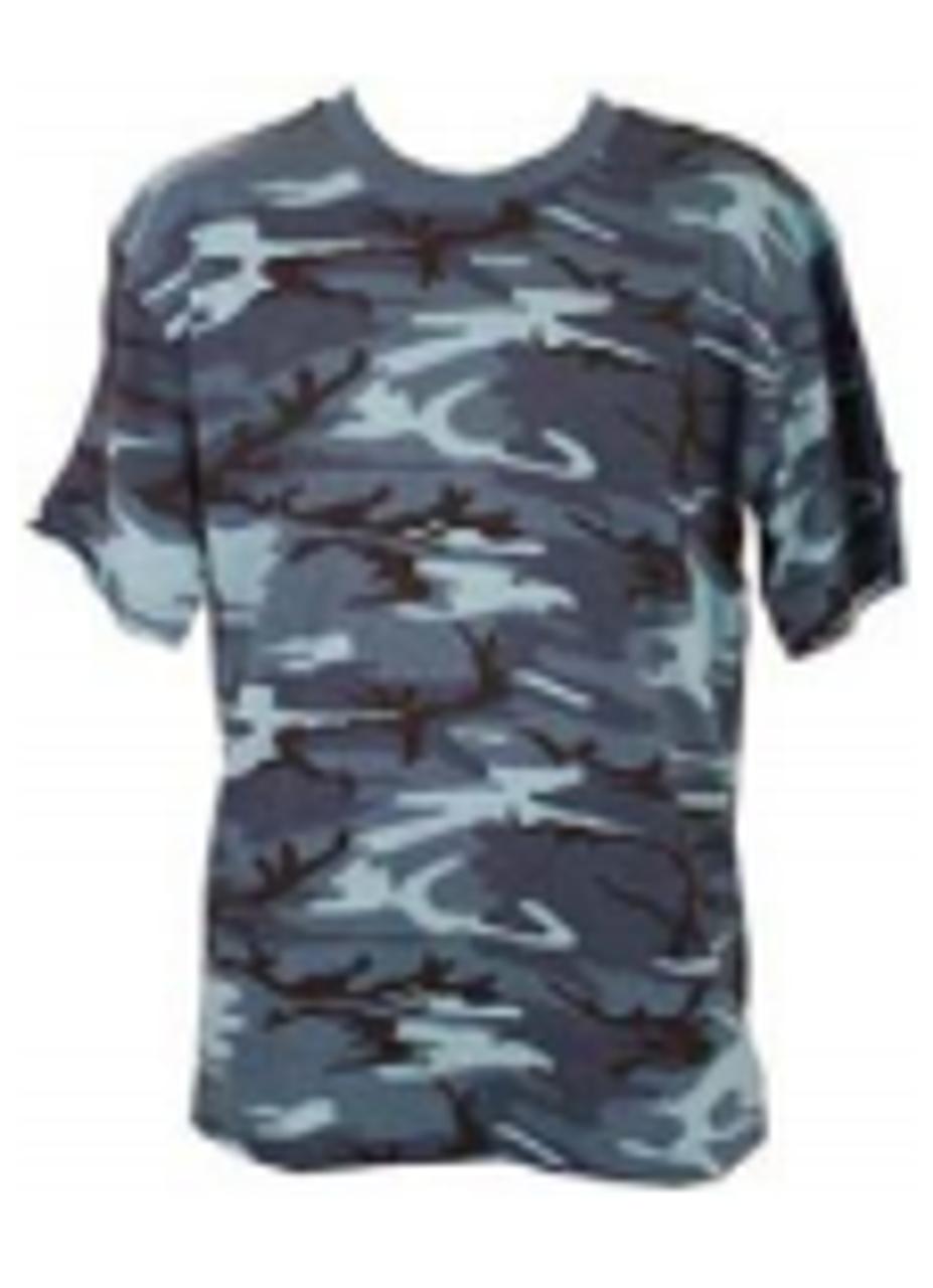 Parklands Sky Blue Camo T-Shirt