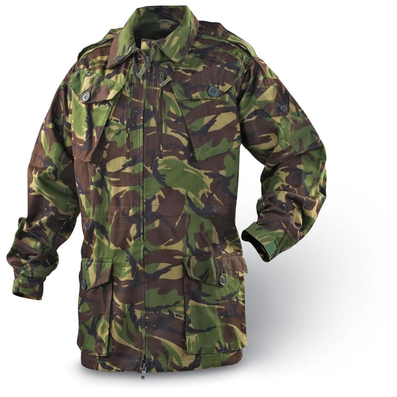 Surplus British DPM Camo Combat Jacket