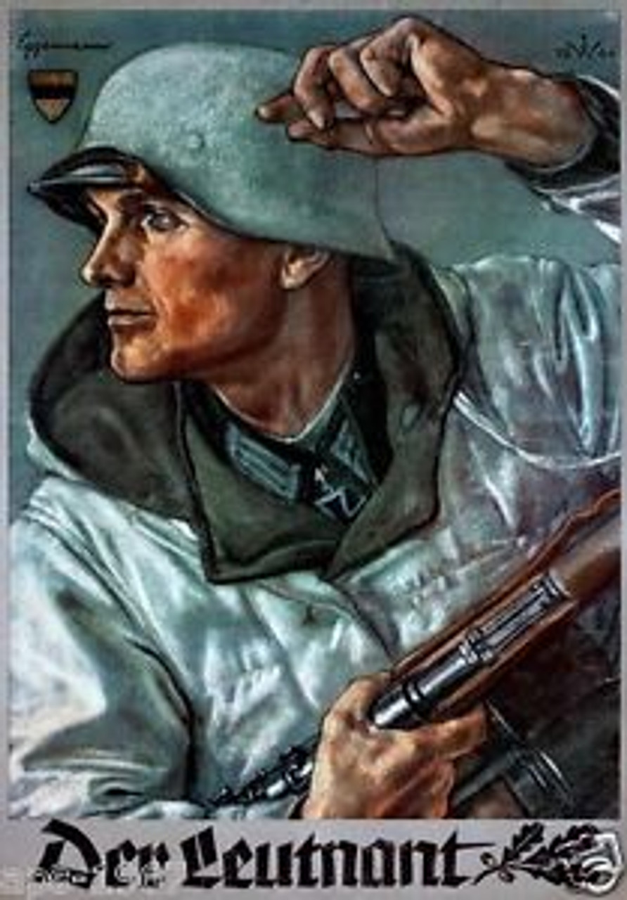 Der Leutnant German WW2 War Poster