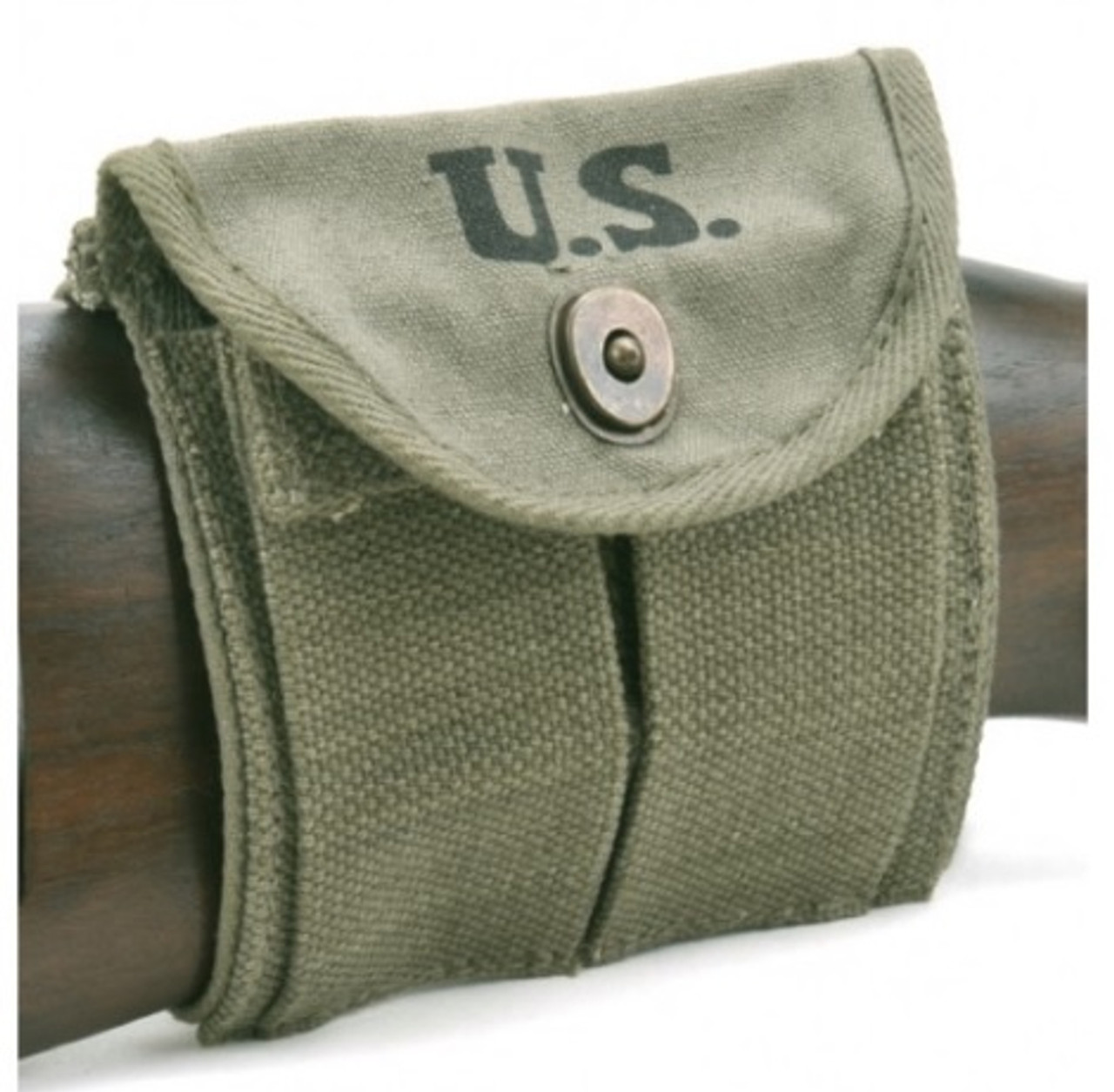 OD USGI WW2 DATED .30 M1 CARBINE SLING, OILER, & BUTTSTOCK POUCH Marked JT&L® 1944