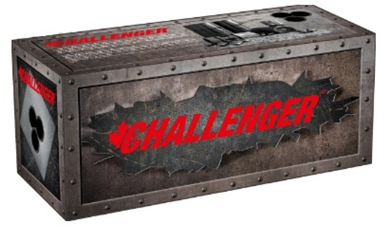 Challenger Tactical 00 Buckshot 12 GA 2-3/4″ Case of 100 Rounds