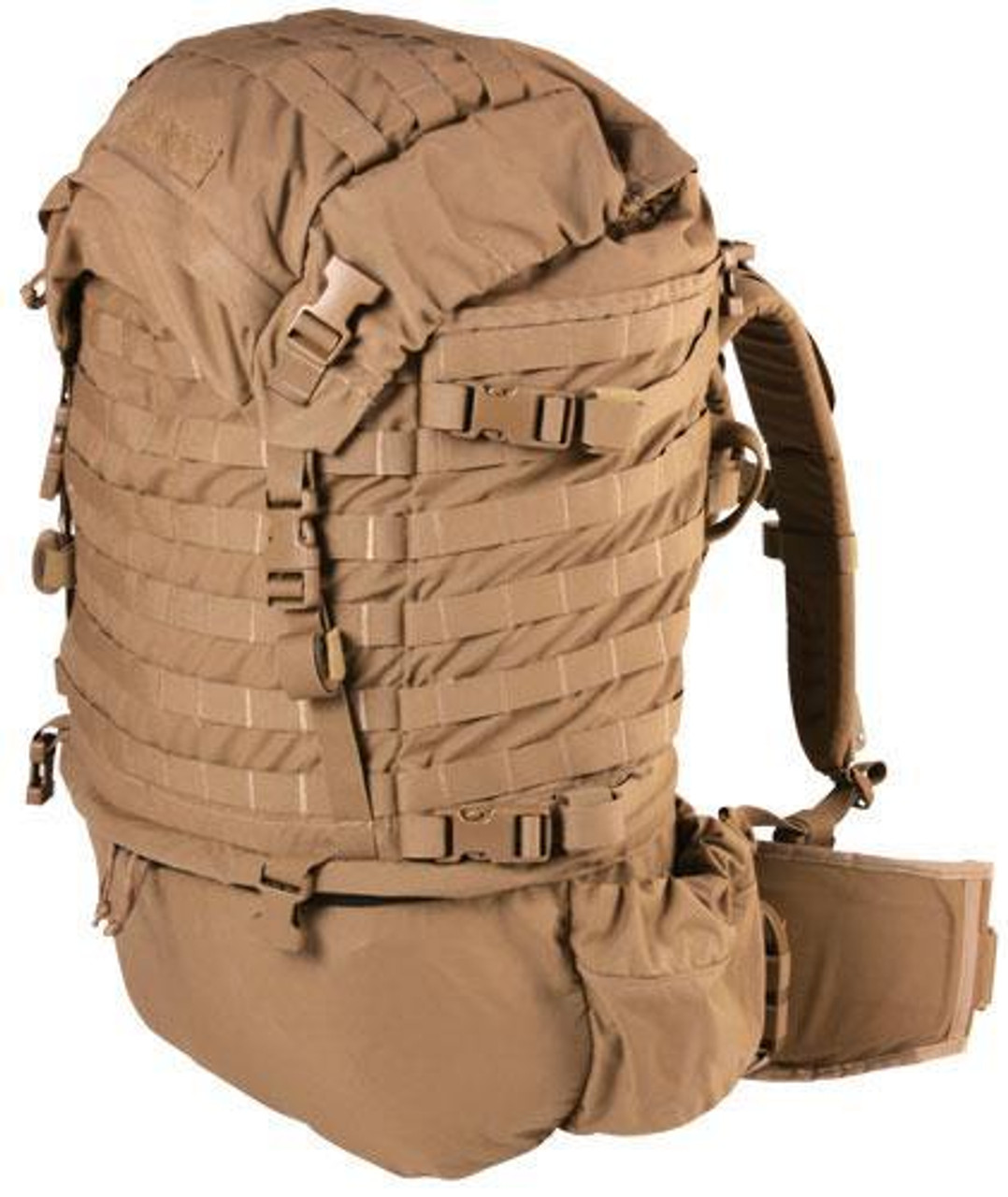 Surplus USMC FILBE Large Molle Rucksack - Coyote- *Heavily used*