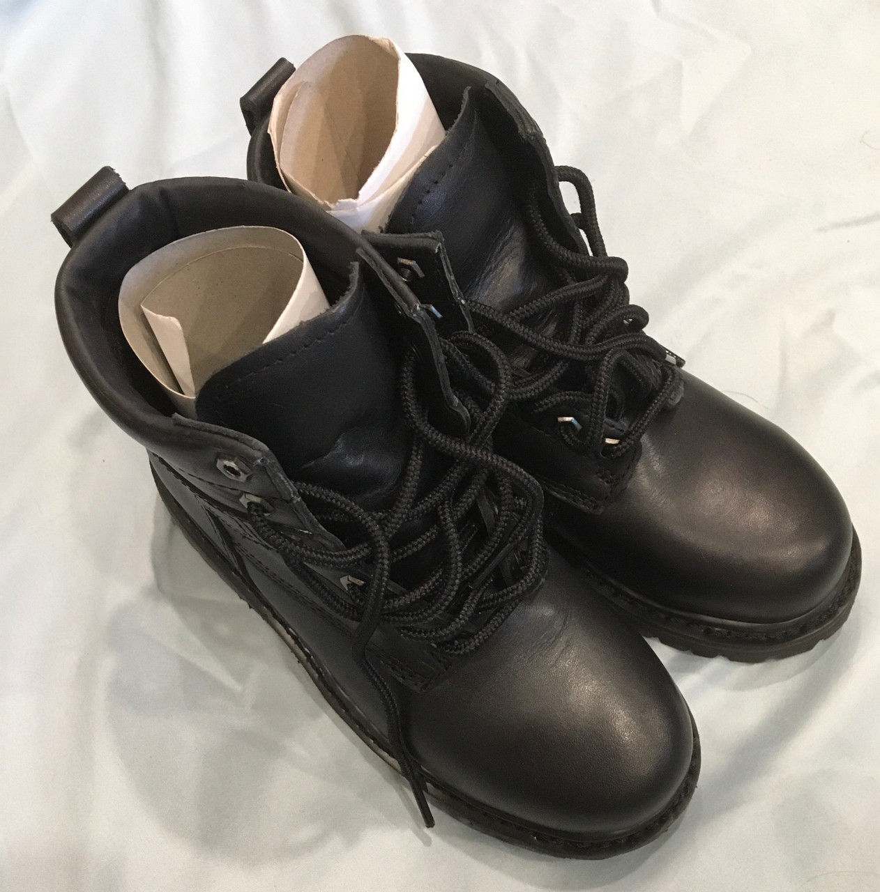 New! Mens Steel Toe Boots Size 4W