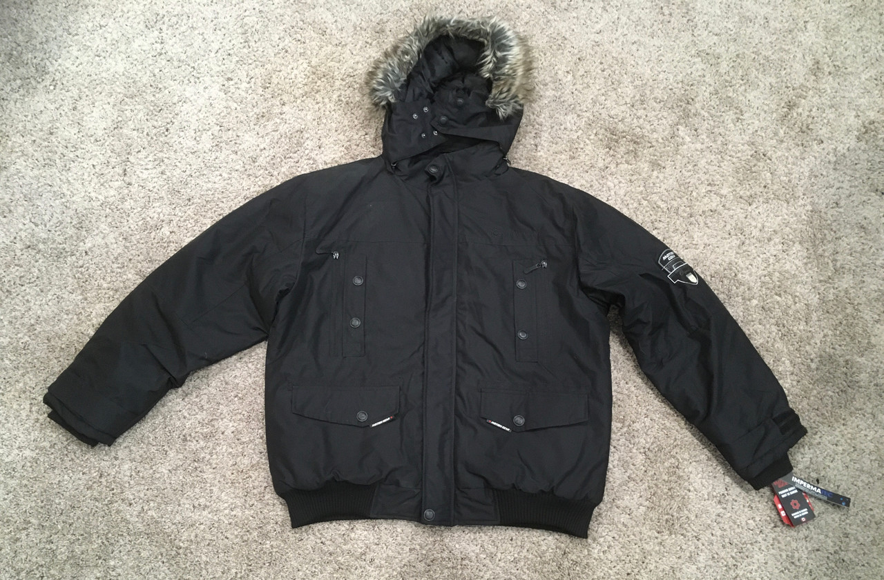 Motion Gear Men's Winter Jacket, 2 Sizes and Options Available