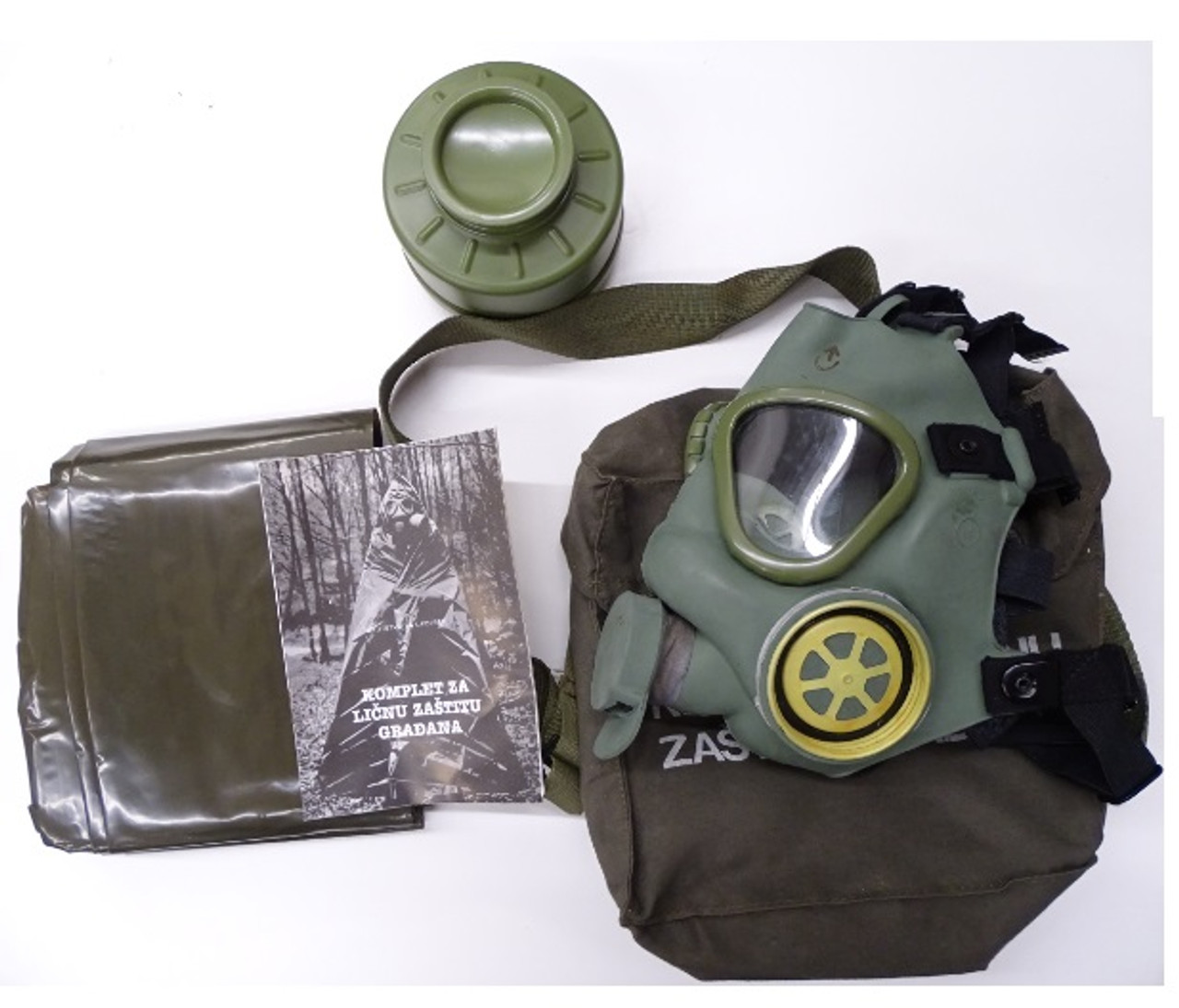 Yugo M1 Gas Mask - Excellent Condition