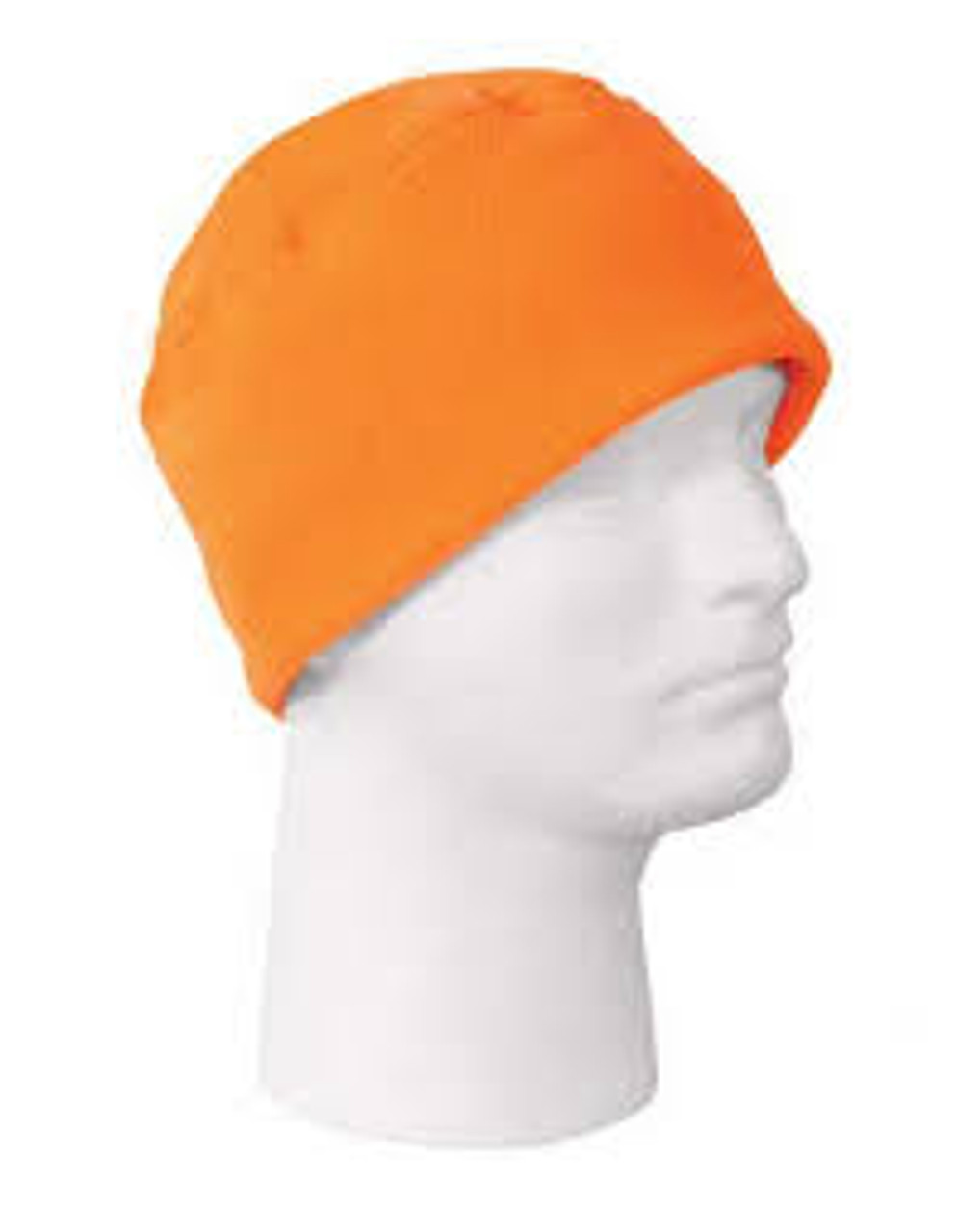 Copy of Hi Visibility fleece Hat Orange