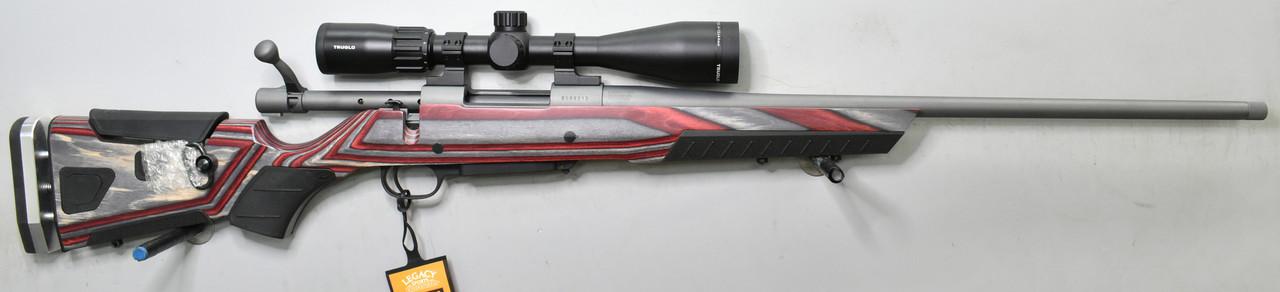 Howa 1500 HMR Cerakote Grey, Boyd's At-One Laminate 6.5mm Creedmoor