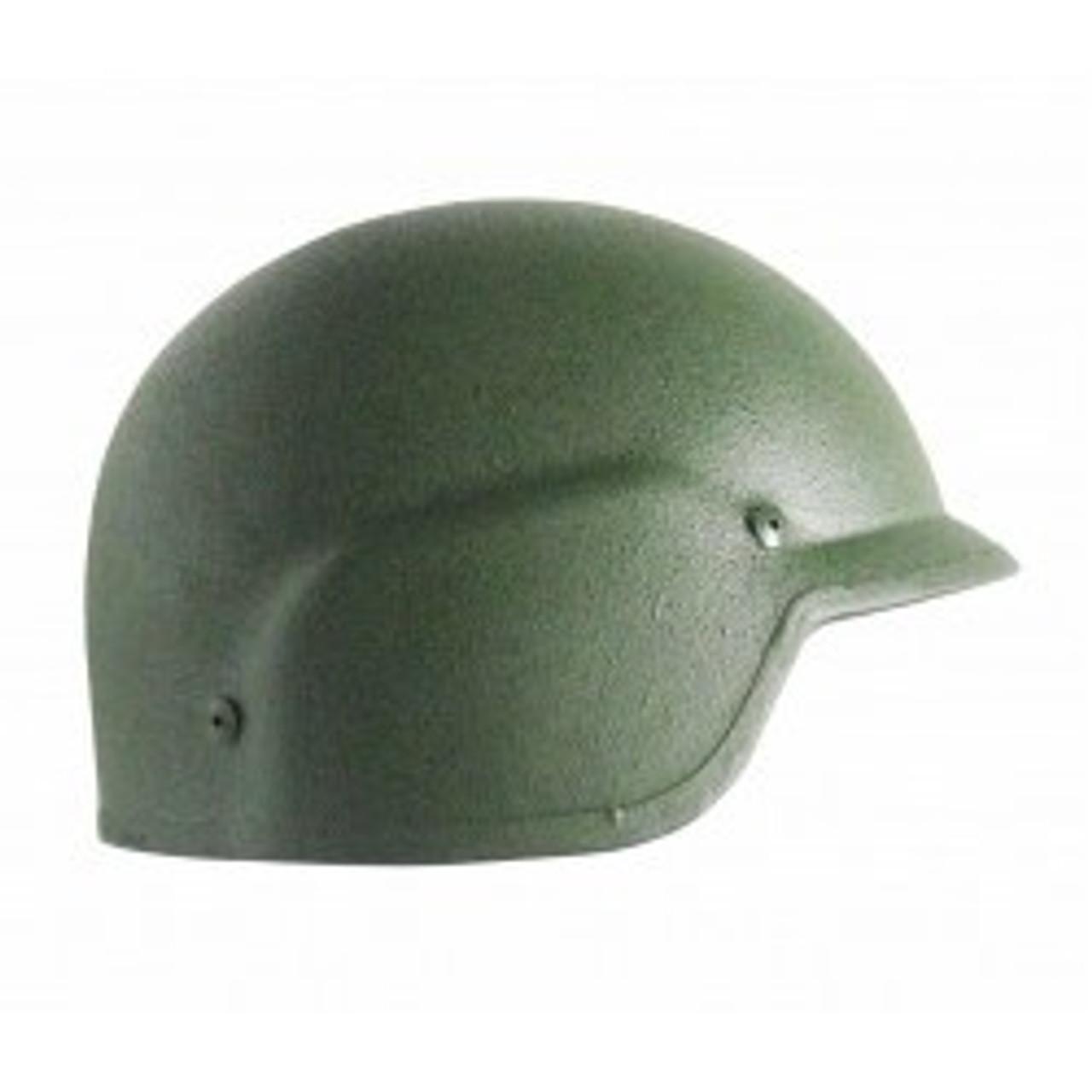 PASGT Ballistic Helmet, Green, NIJ III-A