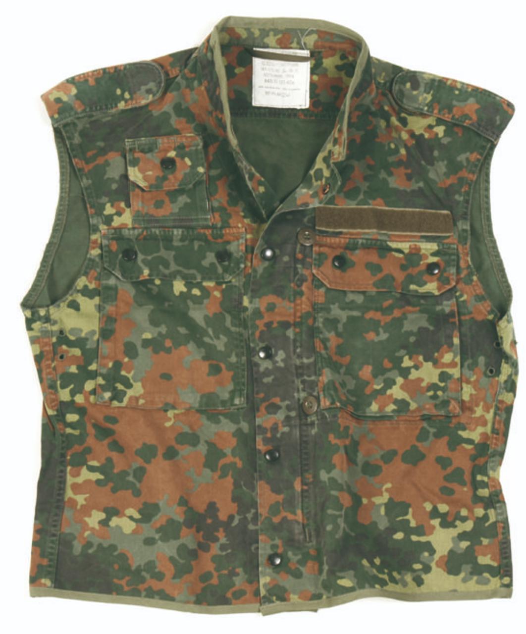 German Flectar Camo Survival Vest