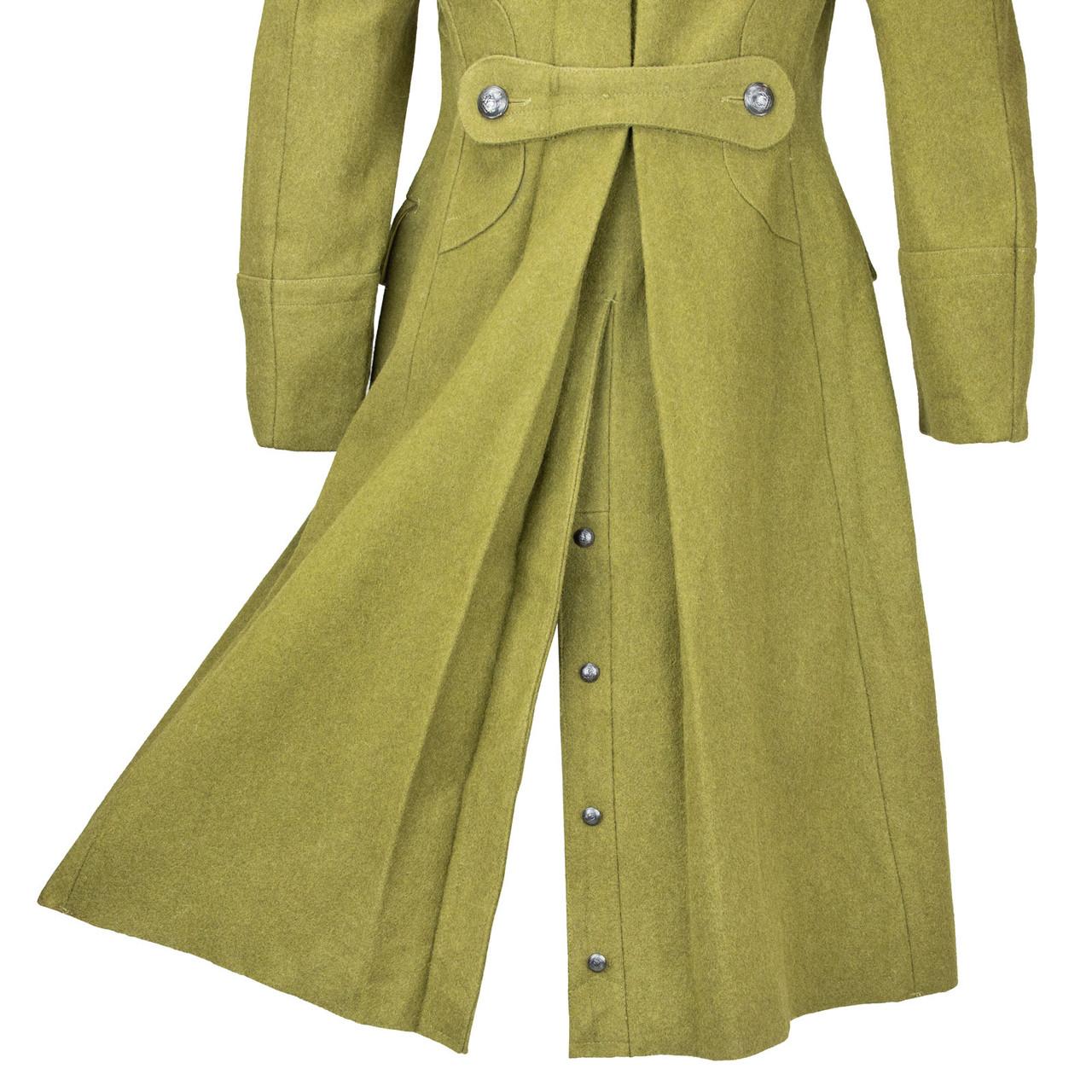 Romanian Wool Long Coat