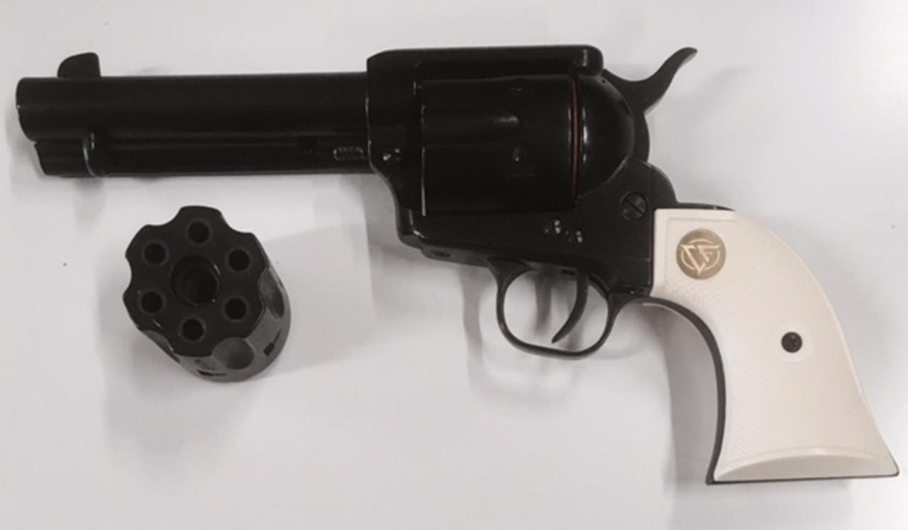 Chiappa 1873 SAA .22LR/22WMR - White Grip