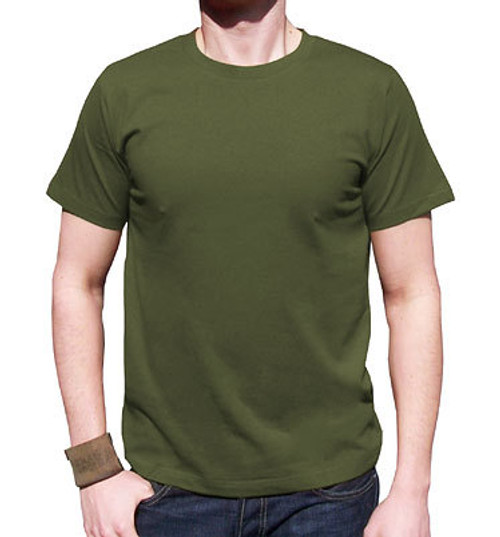 NEW  Canadian Forces OD Green T-Shirt