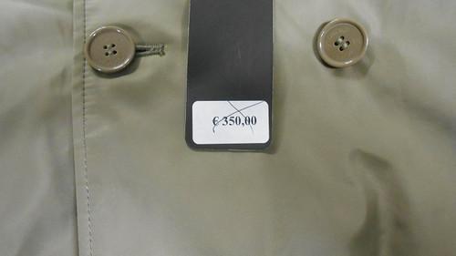 Original Jacket Cost
