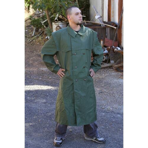German Police Goretex Raincoat - Green