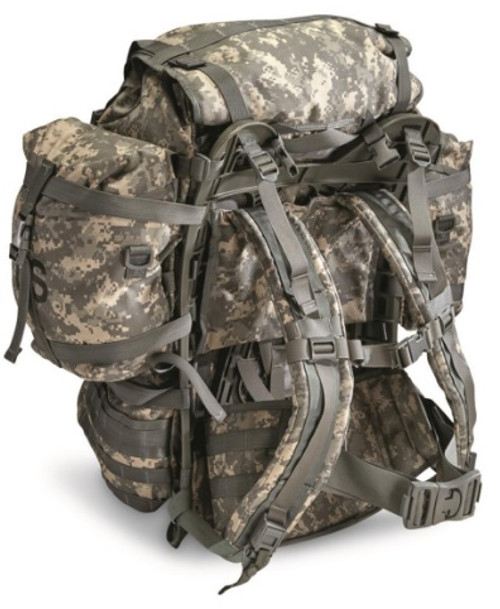 Surplus US Large Molle Field pack w/ Frame and Straps. Excellent to like New Condition!