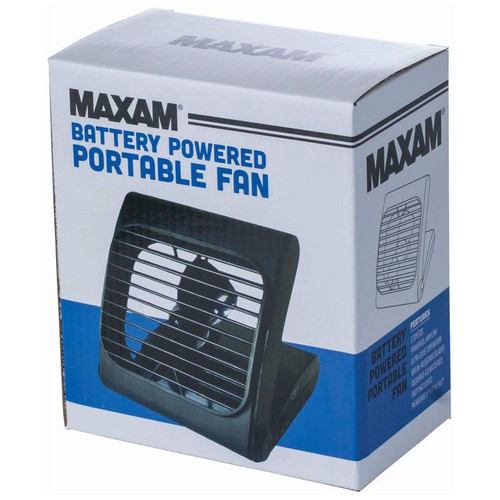 Maxam® Battery Powered Portable Fan