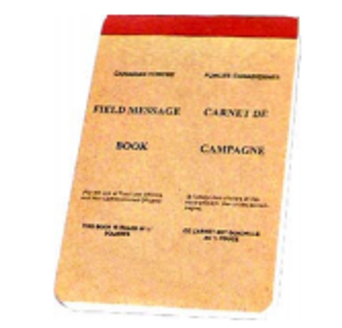 Parklands Canadian Note Book