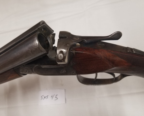 Modell Torbador Fabriques D'Armes F and Hanquet Side by Side 12GA Shotgun #45 - Used