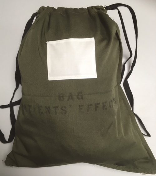 Canadian Military Cloth Bag.  Order Of $20.00+
