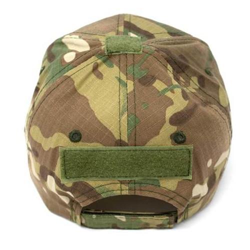 Adjustable Multi-Cam Tactical Rip-Stop Hat