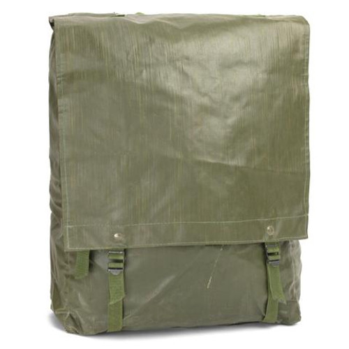 Czech Army Backpack, Rubberized Vinyl