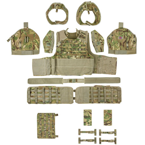 British Osprey Body Armor Set ,MTP Camo Size Large