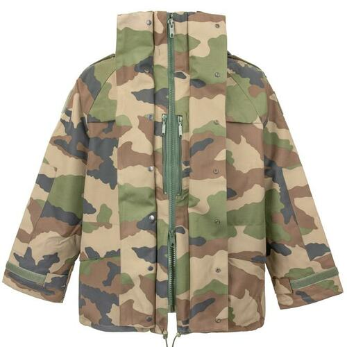 New! French Army Gore-Tex Parka, Woodland Camo
