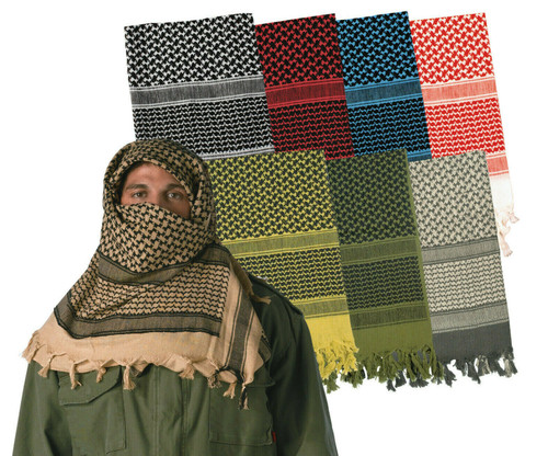 Rothco Shemagh Desert Scarf - Foilage