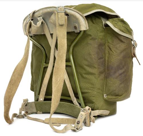 Surplus Norwegian Canvas Backpack