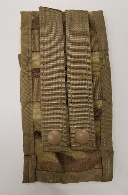 US Military Surplus Molle II M4 Double Mag Pouch - Multicam
