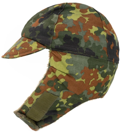 Surplus German Flecktarn Winter Cap