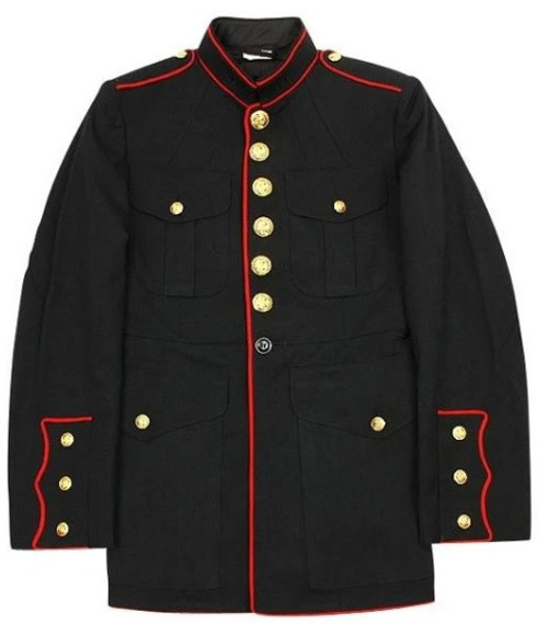 USMC Dress Blues Tunic