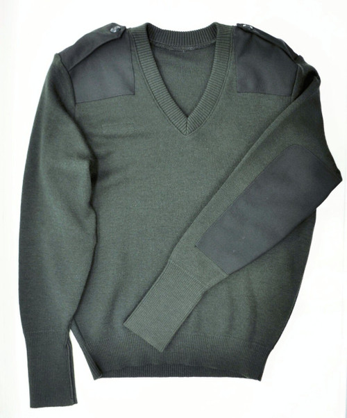 New Unissued Canadian Forces Wool Sweater - Dark Green