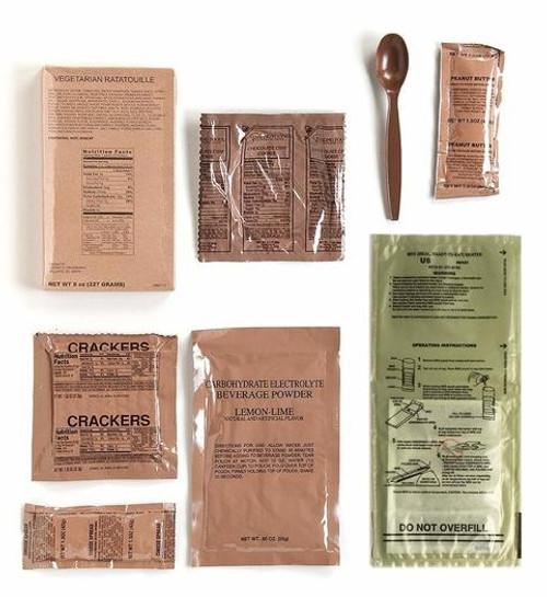 Sopakco MRE 14 Pack w/ Heater - Reduced Sodium