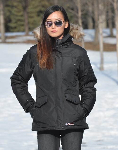 Misty Mountain Ladies Winter Jacket Size Medium