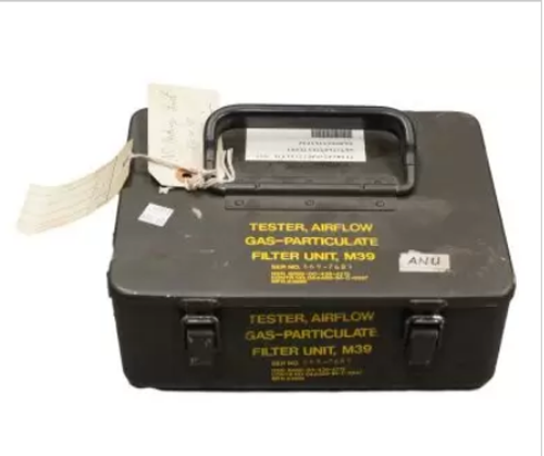 GI US Military M39 Airflow Gas-Particulate Filter Unit Tester